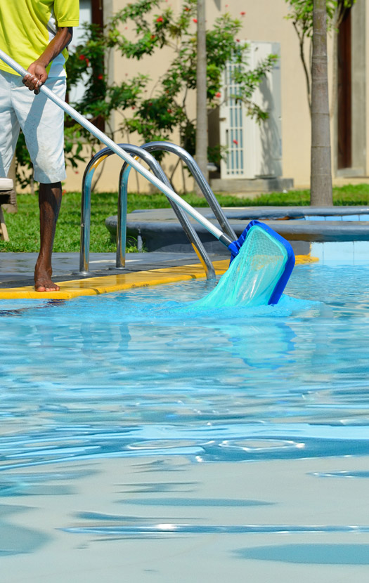 Aoc professional pool services for Piscina turbia